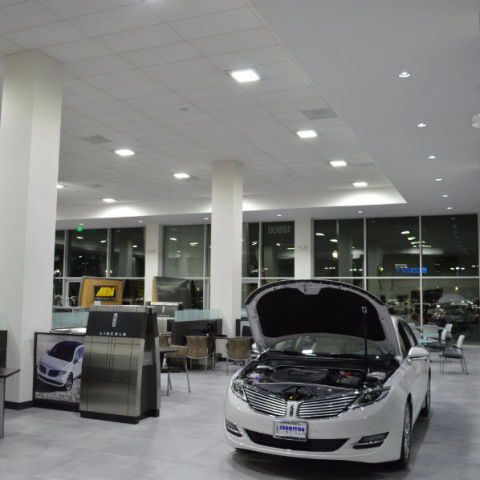 Auto Dealership LED Lighting Optimum Energy Services