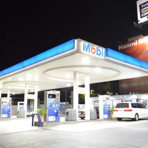 Gas Station LED Lighting Optimum Energy Services